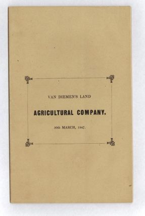 Report made to the Twenty-second Yearly General Meeting of the Van Diemen's Land Company... 30th...