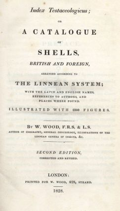 Index Testaceologicus; or A Catalogue of Shells, British and Foreign…. W. WOOD