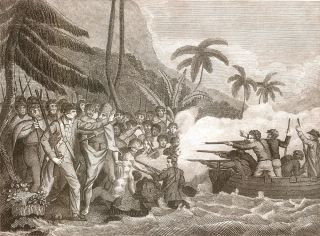 Death of Captain Cook.
