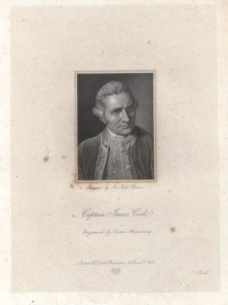 Captain James Cook (proof copy). Cosmo ARMSTRONG, after Nathaniel DANCE, engraver.