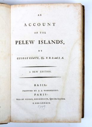 An account of the Pelew Islands…