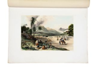 A Series of Lithographic Drawings, from Sketches in New Zealand…. Commander Richard Aldworth...