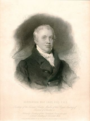Alexander MacLeay. MACLEAY, Sir Thomas LAWRENCE, Charles FOX, after, engraver