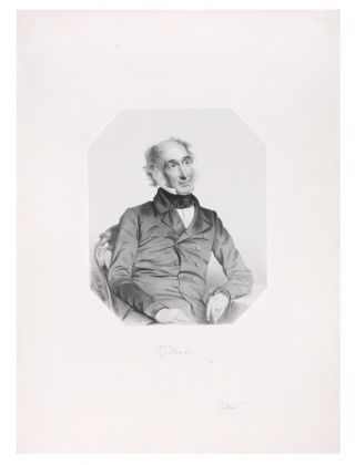Portrait of Sir William Jackson Hooker. HOOKER, T. H. MAGUIRE