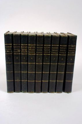 The Works of Alexander Pope Esq. in Nine Volumes, Complete. Alexander POPE