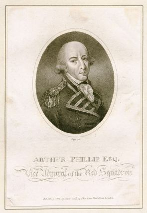 Portrait of Arthur Phillip Esq. Vice Admiral of the Red Squadron. PHILLIP, F. WHEATLEY, after