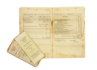 Three Parliamentary reports relating to the annual revenue of New South Wales for 1835.