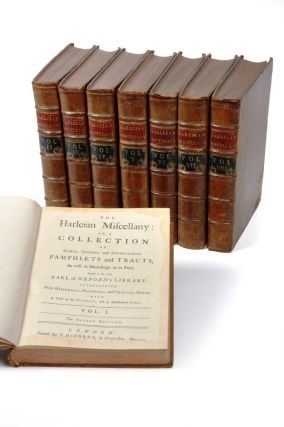 The Harleian Miscellany: or a collection of scarce, curious, and entertaining pamphlets and...