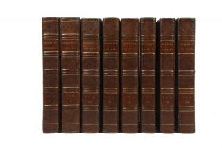 A Collection of Voyages and Travels, some now printed from Original Manuscripts… [and, final two volumes:] A Collection of Voyages and Travels… compiled from the curious and valuable Library of the late Earl of Oxford…