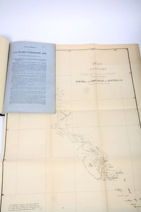 J.M. Stuart's Exploration, 1860 Ordered by the House of Assembly to be printed, 7th June, 1861....