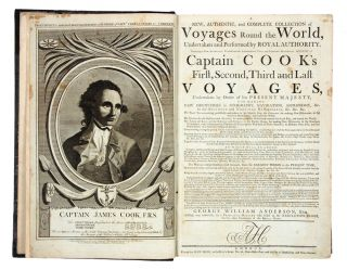A New, Authentic, and Complete Collection of Voyages Round the World,. Undertaken and Performed by Royal Authority. Containing a New, Authentic, Entertaining, Instructive… Account of Captain Cook's First, Second, Third and Last Voyages… and now publishing under the immediate direction of George William Anderson, Esq. George William ANDERSON.