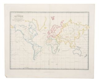 A Plane Chart of the World on Mercator's Projection, With the Tracks & Discoveries of the...