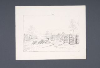 """Ten lithographs views from the series """"Fifteen Views of Australia in 1845 by G.K.E.F"""" together with a lithograph of King George's Sound Western Australia"""