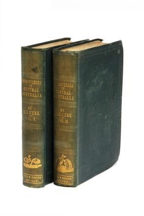 Journals of Expeditions of Discovery in Central Australia, and overland from Adelaide to King George's Sound, in the years 1840-1.