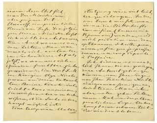 """Autograph letter signed """"Fr. Luetke"""", to Russian Privy councillor Von Adelung."""