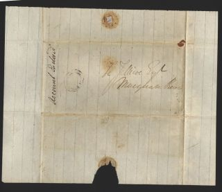 Letter to Henry Jellicoe Esq at Macquarie River, Hobart Town…
