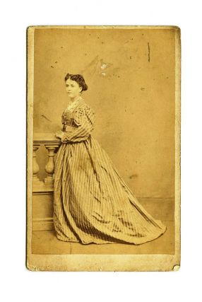 "Carte de Visite of Anne Lindsay, from Winter's studio at ""Australian Hall"", opposite the Theatre..."