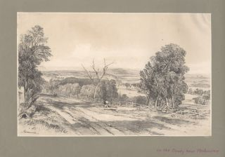 On the Plenty near Melbourne. John Skinner PROUT