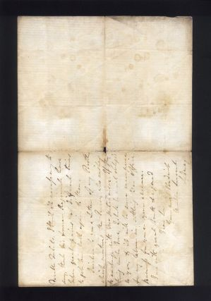 """Autograph letter signed """"Sydney"""" regarding the transfer of a young lieutenant."""