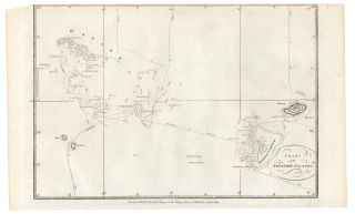Chart of the Friendly Islands. James COOK.