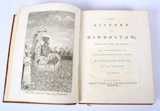 The History of Hindostan. Translated from the Persian...