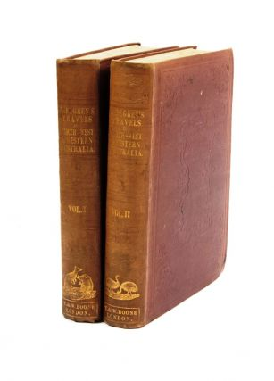 Journals of Two Expeditions of Discovery in North-west and Western Australia, during the years 1837, 38, and 39…