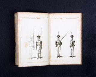 A Series of Figures Shewing all the motions in the Manual and Platoon Exercises…