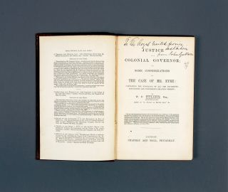 Justice to a Colonial Governor or, some Considerations on the Case of Mr. Eyre…. W. F. FINLASON
