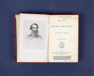 The Life of Edward John Eyre, late Governor of Jamaica. Hamilton HUME