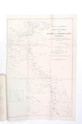 Northern Territory of South Australia. Report on the gold discoveries near Winnecke's depot and mines on the Arltunga goldfields, MacDonell Ranges.