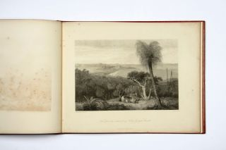 Views of Australian Scenery. Painted by Westall. Engraved by Byrne. Nine Very Fine Plates. Price Fifteen Shillings [label title].