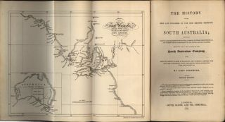 The History of the Rise and Progress of the New British Province of South Australia…. John...