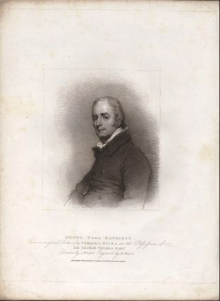 Henry, Earl Bathurst. From an original picture in the possession of Sir George Thomas, Bart....
