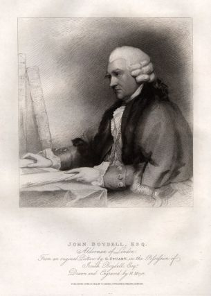 John Boydell, Esq. BOYDELL, Henry MEYER, after Gilbert STUART.