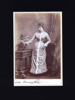 "Cabinet Portrait of ""Lady Carington"", wife of the Governor General of NSW. LADY CARINGTON,..."
