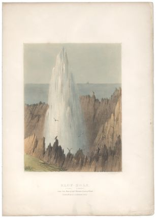 Blow-Hole (Kiana Illawarra). Drawn from nature by Capt. Westmacott. On stone by W. Spreat....