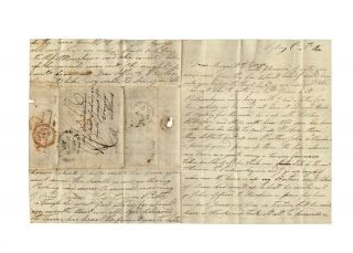 Lengthy autograph letter from Ann McDonald to her brother and sister in Scotland…