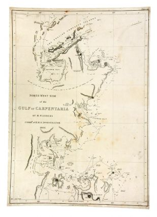 North West Side of the Gulf of Carpentaria by M. Flinders Commr. of H.M. Investigator 1803. Matthew FLINDERS.