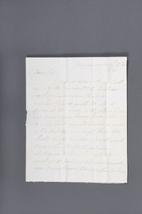 "Important autograph letter signed from the ""Flogging Parson"" Samuel Marsden to the pastoralists'..."