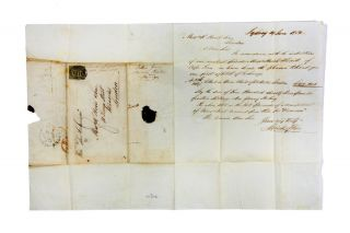 ALS concerning sale of fruit and wine from Cape Town to Hovil & Sons in London. WINE MERCHANTS,...