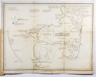 A Map of all those Parts of the Territory of New South Wales which have been seen by any Person belonging to the Settlement established at Port Jackson, in the said Territory. William DAWES.