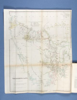 Sketch of the History of Van Diemen's Land, illustrated by a map of the island and an account of the Van Diemen's Land Company. James BISCHOFF.
