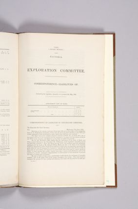 Report of the Commissioners Appointed to Enquire into and Report Upon the Circumstances Connected with the Sufferings and Death of Robert O'Hara Burke and William John Wills, the Victorian Explorers.
