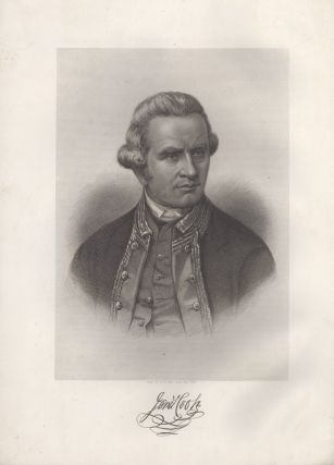 James Cook. Nathaniel DANCE, , after, H B. Halls.