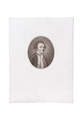 Sepia Portrait of Capt. James Cook. COOK: PORTRAIT, John WEBBER, Francesco BARTOLOZZI