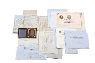 Extensive Archive relating to the three-year maiden circumnavigation voyage of the Nova Scotia...