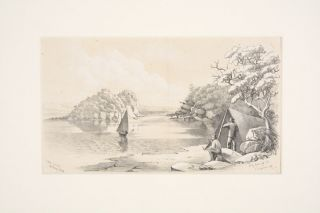 Bear Island Botany Bay. SYDNEY, William Henry RAWORTH