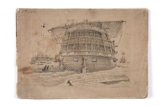 Sketches of Shipping Drawn and Etch'd by Henry Moses 1824 [cover title] Parts 5 & 6 [in ms.]....