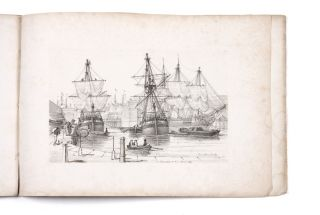 Sketches of Shipping Drawn and Etch'd by Henry Moses 1824 [cover title] Parts 5 & 6 [in ms.].