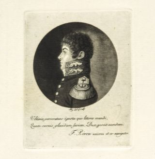 Engraved portrait of Louis Claude de Saulces de Freycinet (1779-1842). FREYCINET,...